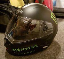 2x Monster Aufkleber Set Sticker Tuning Turbo Kawasaki Yamaha Honda KTM grün