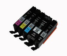 5x DRUCKERPATRONEN CANON PGI-550 CLI-551  IP7250 MG5550 MX925 MG5650