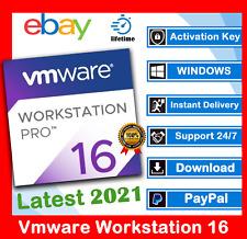 VMware Workstation Pro 16🔑2021🔑Lifetime Activation 🔑Windows✅ Unlimited PC✅