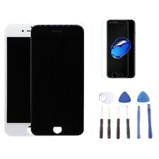 iPhone 7 Display: Retina LCD Screen & Digitizer schwarz + Werkzeug + Schutz