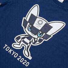 Tokyo Olympics 2020 Japan T Shirt Mascot Blue Size Small