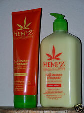 2= HEMPZ SUPRE ORIGINAL GOJI ORANGE LEMONADE MOISTURIZER + BODY WASH SHOWER GEL