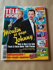 "Johnny Hallyday  ""Télé Poche""  n°2074  -  Nov. 2005"