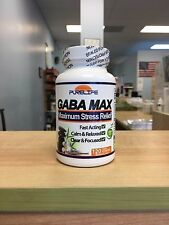 GABA-MAX 120 GRAM POWDER!! MAXIMUM STRENGTH STRESS ANXIETY RELAXATION FORMULA