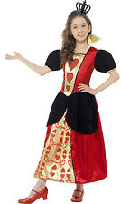 Smiffy's Children's Miss Hearts Costume Dress and 3d Felt Crown Size S Red