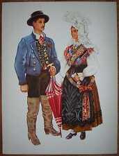 Slovenia Folk Costume - Gorenjska - IV/03