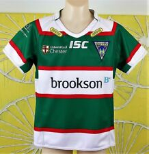 WARRINGTON WOLVES AWAY JERSEY kids size 10 new with tags
