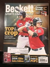 2015 February Beckett Sports Card Monthly Price Guide Gallo/Bryant on Cover