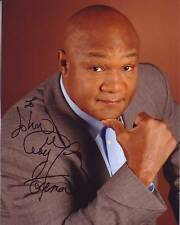 GEORGE FOREMAN Autographed Signed Photograph - To John BOXING LEGEND!
