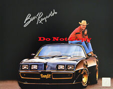 Burt Reynolds Smokey and The Bandit Trans Am  autographed 8x10 photo RP