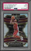 2019 Panini Select Kevin Porter Jr. Silver Refractor RC Rookie #85 PSA 9 MINT