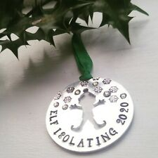 Elf Isolating  Bauble/ Christmas tree ornament