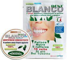Blancodent Dentrifricio Senza Fluoro In Polvere E Colluttorio Naturale Denti Bia