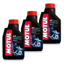 Offerta 3 Litri Olio Motore Moto MOTUL 3000 20W50 4T