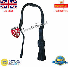 NEW BRITISH INFANTRY BLACK LEATHER SWORD KNOT NAVY OFFICER MARINES ARMY