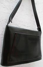 -AUTHENTIQUE sac à main POURCHET cuir TBEG vintage bag