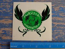 Cannabis Ganja Decal STICKER ~ KARMA CEUTICALS Marijuana Dispensary ~ Denver, CO