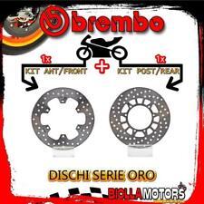 BRDISC-2308 KIT DISCHI FRENO BREMBO YAMAHA XT 1987- 600CC [ANTERIORE+POSTERIORE]