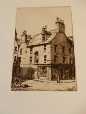 More details for etching of auld  ayr 1897 rare  limited editn  robert bryden 1865–1939 newmarket