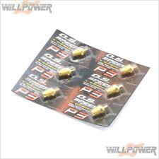 Speed P3 Turbo Glow Plug 24K Gold 6pcs #71642720 (RC-WillPower) O.S.
