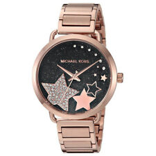 Women's Watch Michael Kors MK3795 Portia Dress Watches Rose-Gold Tone Starts