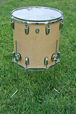 "ADD this 16"" LUDWIG USA CLASSIC NATURAL MAPLE FLOOR TOM to YOUR DRUM SET! #E818"