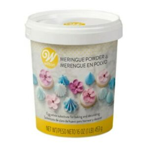 Wilton Meringue Powder 16 oz #702-6004X Free shipping