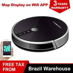 (BR warehouse)LIECTROUX C30B Robot Vacuum Cleaner,4000Pa Suction,Map Navigation