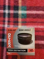 OPTEKA HD2 0.43x AF Wide Angle, 58mm Lens