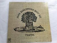 Traffic Vintage Vinyl John Barleycorn Must Die United Artist Records 1971 Music