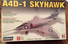 LINDBERG A4D-1 SKYHAWK FIGHTER MODEL PLANE NAVY AIRPLANE 1:48 SCALE SK LEVEL 2