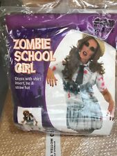 Zombie School Girl Outfit Size Xl