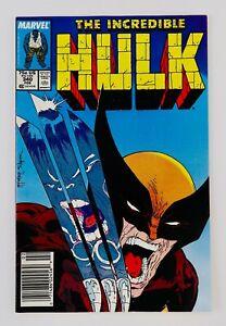 Hulk #340 Newsstand Vs Wolverine Todd McFarlane Cover Grail Hot Key No Reserve!!