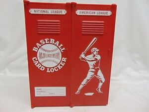 Vintage Lakeside Ind Major League Baseball Card Locker