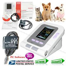 USA,Vet Veterinary OLED digital Blood Pressure&Heart Beat Monitor NIBP CONTEC08A