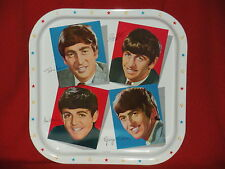 The Beatles 1970's Colorful Metal Serving Tray C@@L FAB VINTAGE OLD STOCK SEE