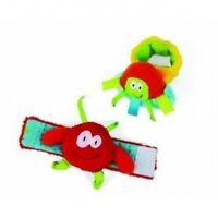 Manhattan Toys Alien Space Friends 2 Baby Wrist Rattles