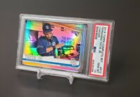 2019 Topps Chrome Fernando Tatis Jr. Refractor RC PSA 10 Complete Set Rookie SP