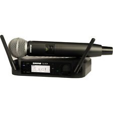 Shure GLXD24/SM58 Handheld Wireless Mic System GLXD24 SM58
