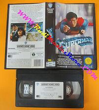 VHS film SUPERMAN THE MOVIE Marlon Brando 1989 WARNER GLI SCUDI  (F119) no dvd