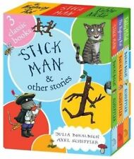 Stick Man and Other Stories -set of 3 books