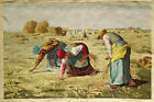 """25""""X36"""" Needlepoint Arts MASTERPIECE The Gleaners Des glaneuses Tapestry Artwork"""