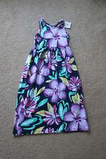 Gymboree Girls Sundress Sleeveless Navy Print Floral Sz S (5-6)