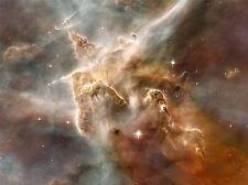 HUBBLE SPACE TELESCOPE STAR FORMING REGION CARINA NEBULA POSTER PRINT ART 420PYA