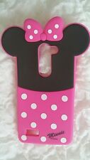 Is- Phonecaseonline Cover Silicone Minnie for LG L Bello