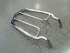Motorcycle rear carry rack chrome