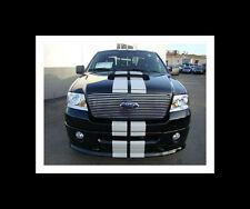 "All Year Ford F150 F250 F350 8"" Plain Rally stripes Stripe Graphics 4x4 XLT FX4"