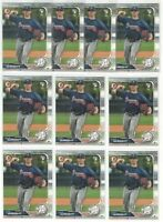 x500 KYLE WRIGHT 2019 Bowman Baseball Rookie Card RC Logo lot/set Atlanta Braves