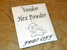 F_ _k Off Voodoo Hex Powder - Binding and Dark Magick - HooDoo