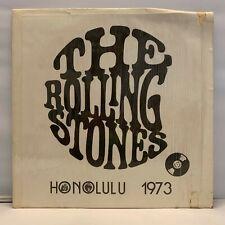 "The Rolling Stones - Honolulu 1973 12"" Vinyl Blue Label Horns Matrix"